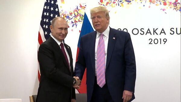 Как прошла встреча Путина и Трампа на полях G20 - Sputnik Таджикистан