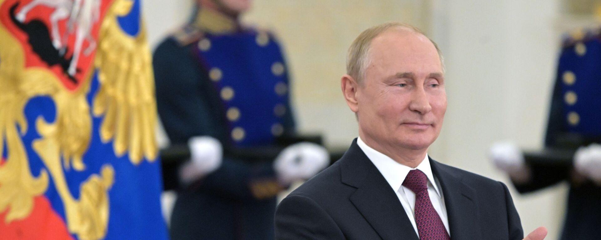Президент РФ Владимир Путин, архивное фото - Sputnik Таджикистан, 1920, 08.06.2021