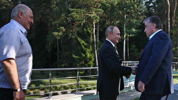 Рабочий визит президента РФ В. Путина в Республику Беларусь - Sputnik Тоҷикистон