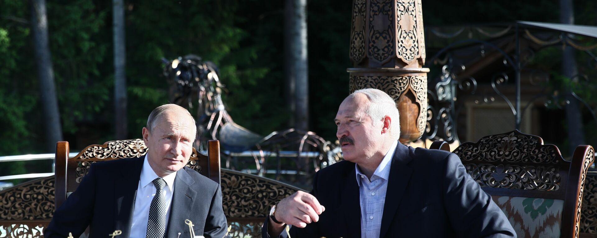 Рабочий визит президента РФ В. Путина в Республику Беларусь - Sputnik Таджикистан, 1920, 13.09.2020