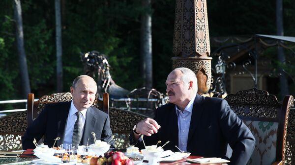 Рабочий визит президента РФ В. Путина в Республику Беларусь - Sputnik Таджикистан