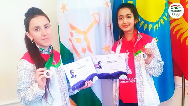 Шахматистки из Таджикистана завоевали медали на международных соревнованиях - Sputnik Таджикистан