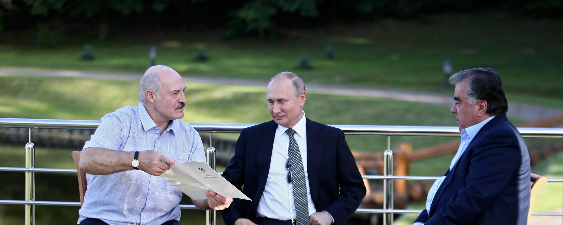 Рабочий визит президента РФ В. Путина в Республику Беларусь - Sputnik Таджикистан, 1920, 30.08.2021