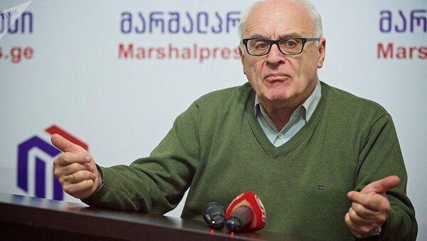 Политолог Рамаз Сакварелидзе - Sputnik Таджикистан