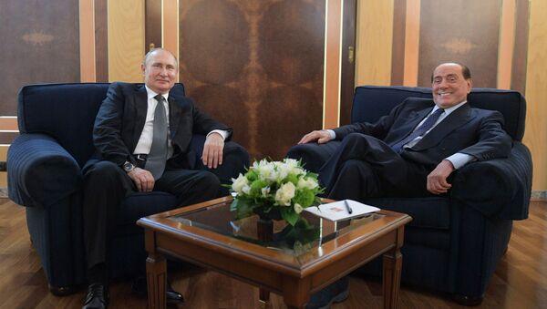 Официальный визит президента РФ В. Путина в Италию - Sputnik Таджикистан