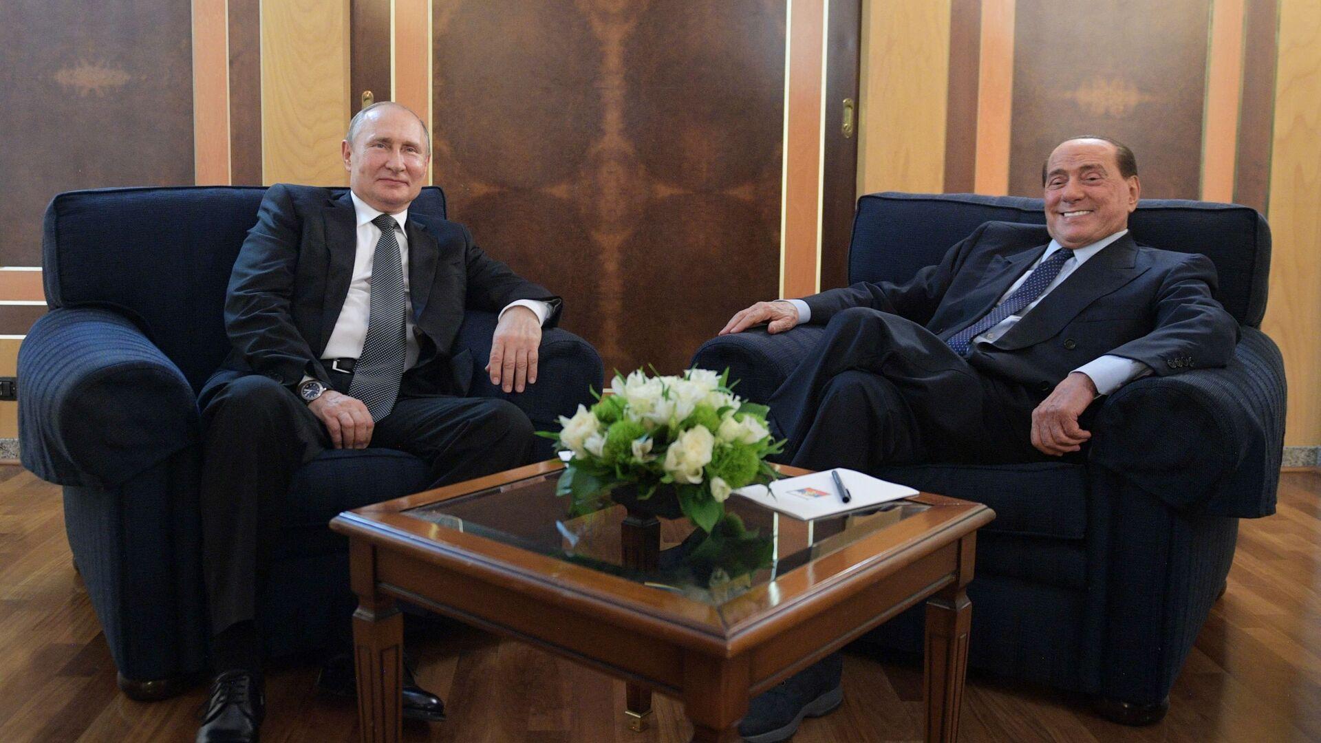 Официальный визит президента РФ В. Путина в Италию - Sputnik Таджикистан, 1920, 30.09.2021