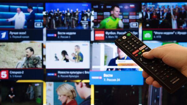 С 1 января 2019 года Россия перейдет на цифровое телевидение  - Sputnik Тоҷикистон