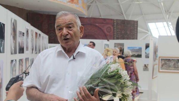 Выставка картин Заур Дахте в национальном музее - Sputnik Тоҷикистон