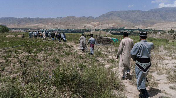 Похороны в Таджикистане, архивное фото - Sputnik Таджикистан