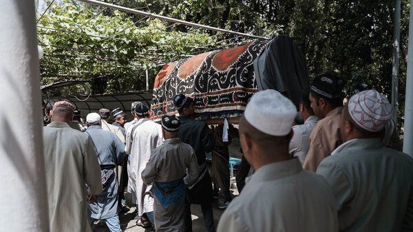 Похороны в Таджикистане, архивное фото - Sputnik Тоҷикистон