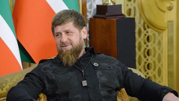 Глава Чеченской Республики Рамзан Кадыров, архивное фото - Sputnik Тоҷикистон