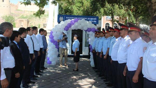 Открытие двух обслуживающих пунктов туристической милиции - Sputnik Таджикистан