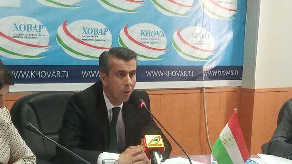 уполномоченный по правам человека Таджикистана Умед Бобозода  - Sputnik Тоҷикистон