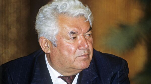 Бывший президент Таджикистана Рахмон Набиев - Sputnik Тоҷикистон