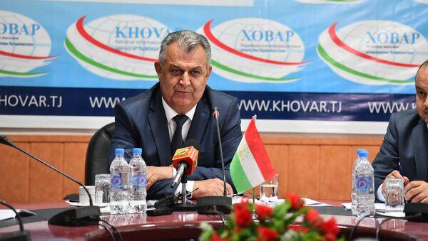 Нуриддин Саид, министр образования и науки Таджикистана - Sputnik Тоҷикистон