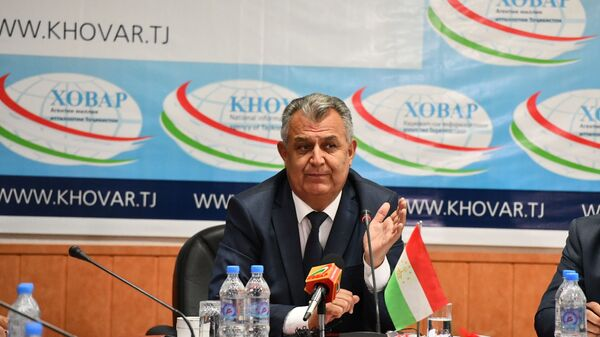 Нуриддин Саид, министр образования и науки Таджикистана - Sputnik Таджикистан