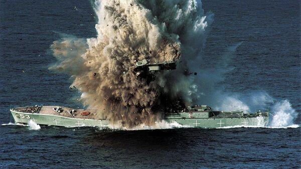 Взрыв корабля - Sputnik Таджикистан