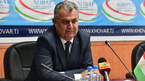 Министр образования Таджикистана Нуриддин Саид  - Sputnik Тоҷикистон