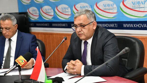Шухрат Максудзода, глава государственной страховой компании Тоджиксгурта - Sputnik Тоҷикистон