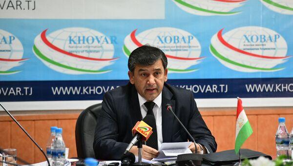 Глава Амонатбанка Сироджиддин Икроми - Sputnik Таджикистан