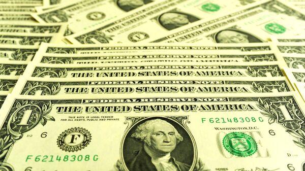 Банкноты номиналом 1 доллар США - Sputnik Тоҷикистон