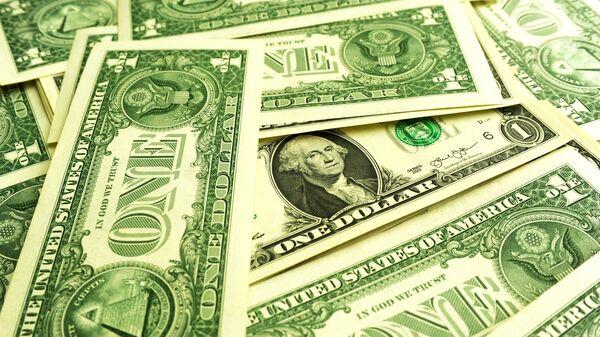 Банкноты номиналом 1 доллар США - Sputnik Таджикистан