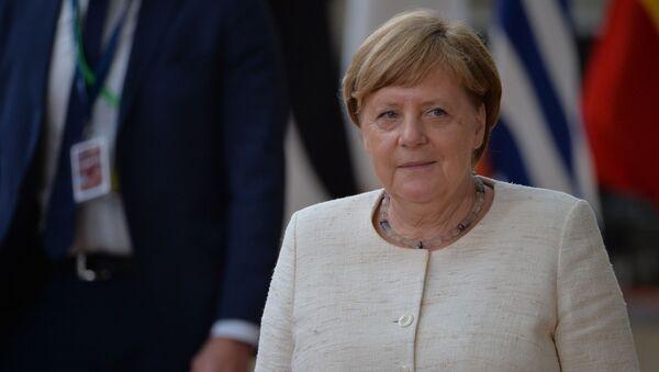 Федеральный канцлер Германии Ангела Меркель - Sputnik Таджикистан