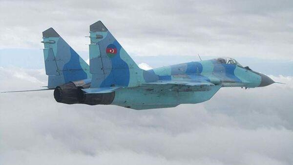 Азербайджанский МиГ-29 - Sputnik Таджикистан