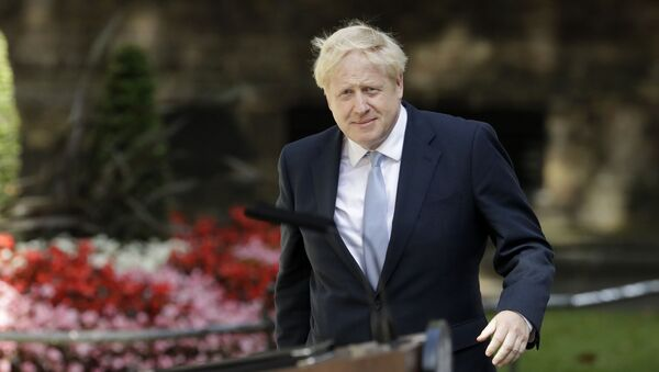 Новый премьер-министр Великобритании Борис Джонсон - Sputnik Таджикистан
