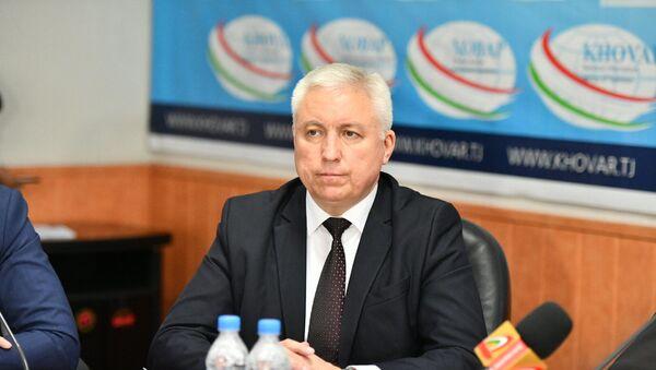 Заместитель директора Агентства гражданской авиации Азиз Набизода - Sputnik Таджикистан