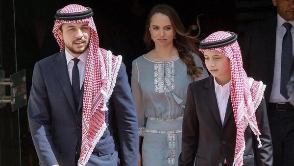 Принц Иордании Хуссейн бин аль-Абдалла - Sputnik Таджикистан