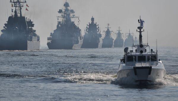 Празднование Дня ВМФ в Санкт-Петербурге  - Sputnik Таджикистан