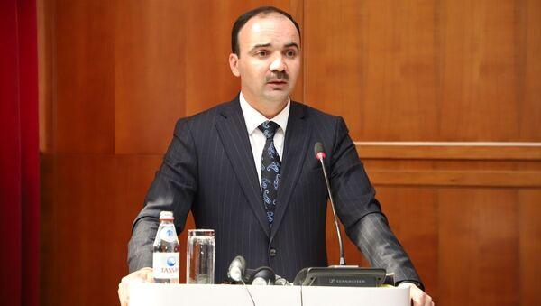Абдухалил Гафурзода, ректор Института государственного управления при Президенте Республики Таджикистан  - Sputnik Таджикистан