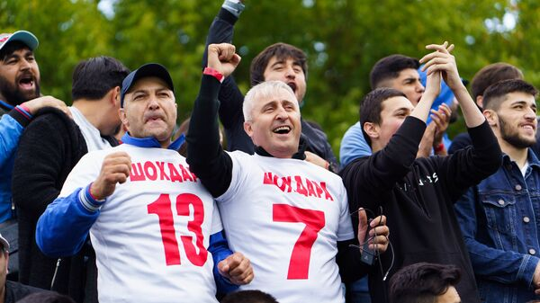 Летний турнир по футболу Кубок Нур в Москве  - Sputnik Таджикистан