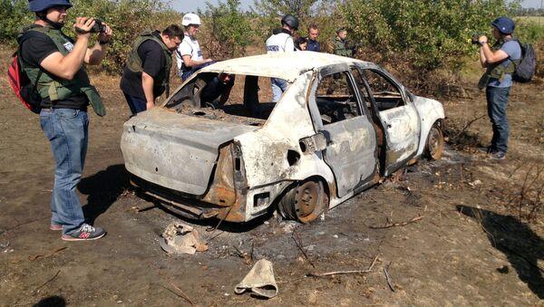 Место гибели Андрея Стенина - Sputnik Таджикистан