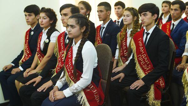 Открытие молодежного центра в центре Ховалинского района - Sputnik Тоҷикистон