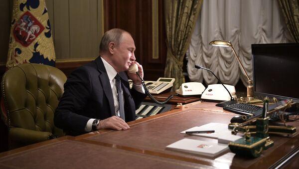 Рабочая поездка президента РФ В. Путина в Санкт-Петербург - Sputnik Таджикистан