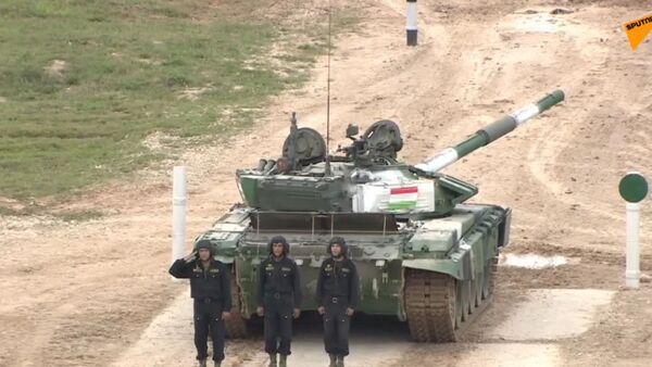 Танковый биатлон - 2019. Индивидуальная гонка - Sputnik Таджикистан
