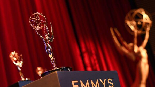Статуэтка международной премии Emmy, фото из архива - Sputnik Таджикистан