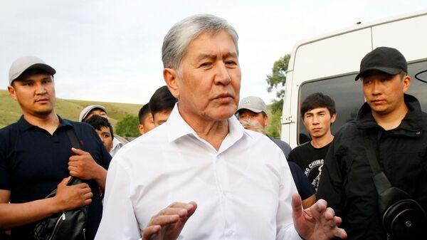 Бывший президент Кыргызстана Алмазбек Атамбаев - Sputnik Тоҷикистон