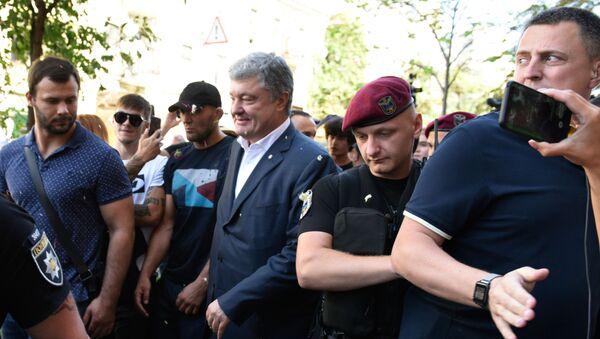 Бывший президент Украины П. Порошенко вызван на допрос в ГБР - Sputnik Таджикистан