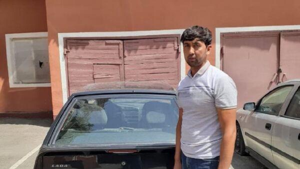Таджик, задержанный за домогательства - Sputnik Таджикистан