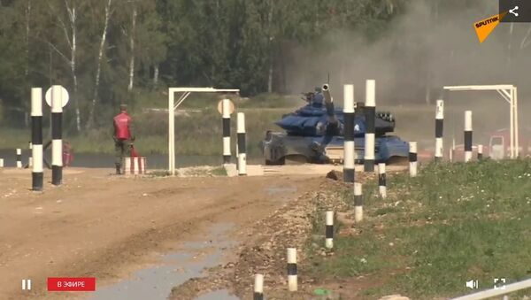 СПУТНИК_LIVE: Танковый биатлон. Финал второго дивизиона - Sputnik Таджикистан