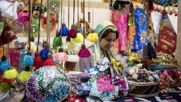 Выставка достижений народного хозяйства Ирана, проходящая в Экспоцентре Тегерана - Sputnik Таджикистан