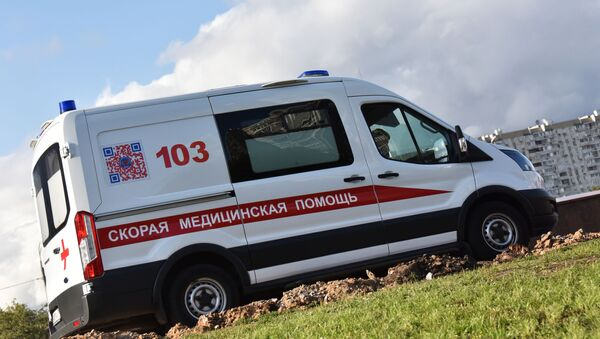Автомобиль скорой медицинской помощи - Sputnik Таджикистан