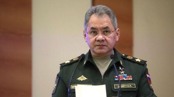 Министр обороны РФ Сергей Шойгу, архивное фото - Sputnik Тоҷикистон