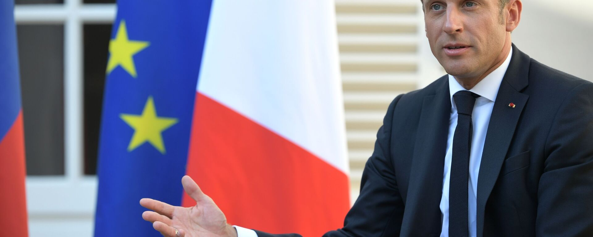 Президент Франции Эммануэль Макрон - Sputnik Таджикистан, 1920, 12.09.2021