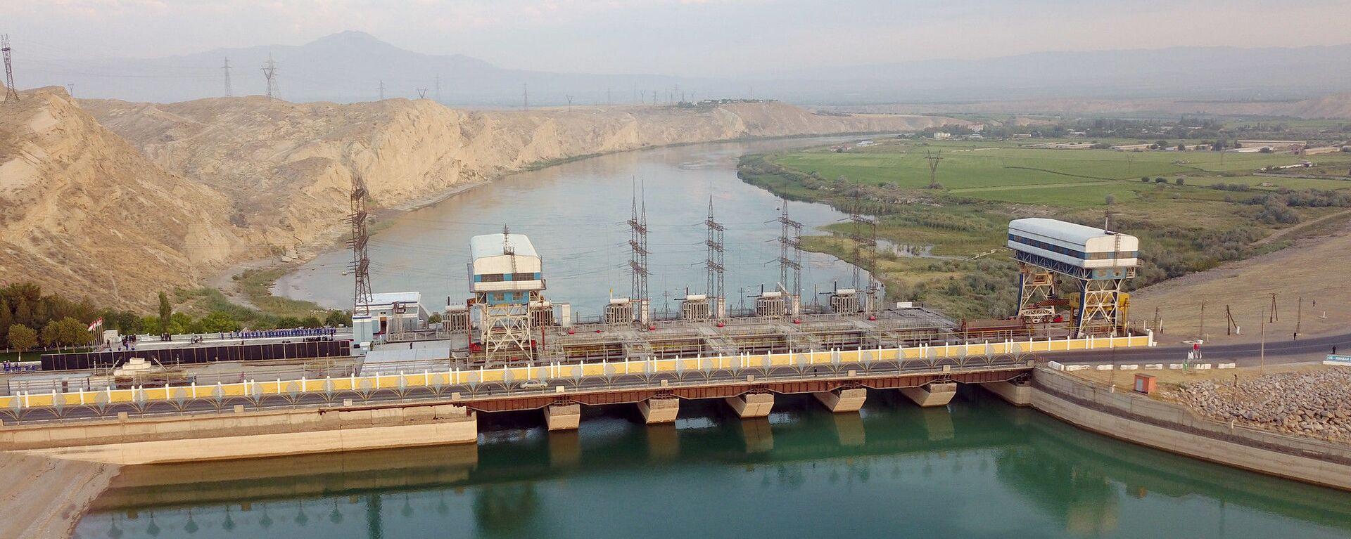 Кайраккумская ГЭС - Sputnik Таджикистан, 1920, 17.09.2021