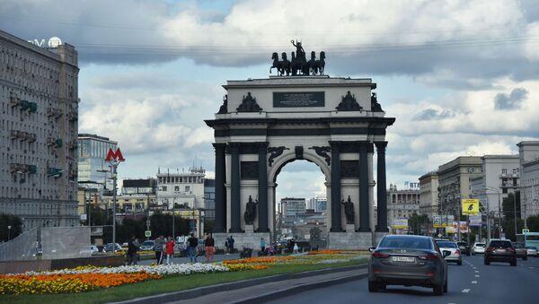 Московские Триумфальные ворота - Sputnik Таджикистан