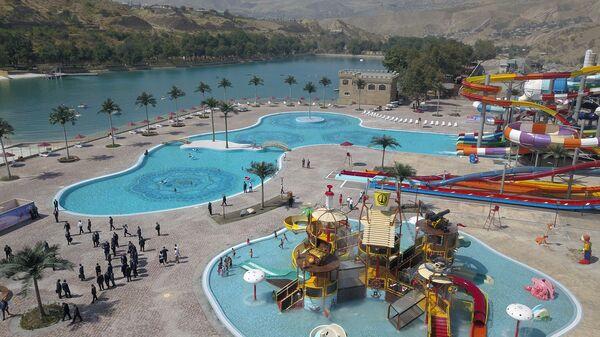 Самый большой аквапарк в Центральной Азии открылся в Душанбе - Sputnik Тоҷикистон